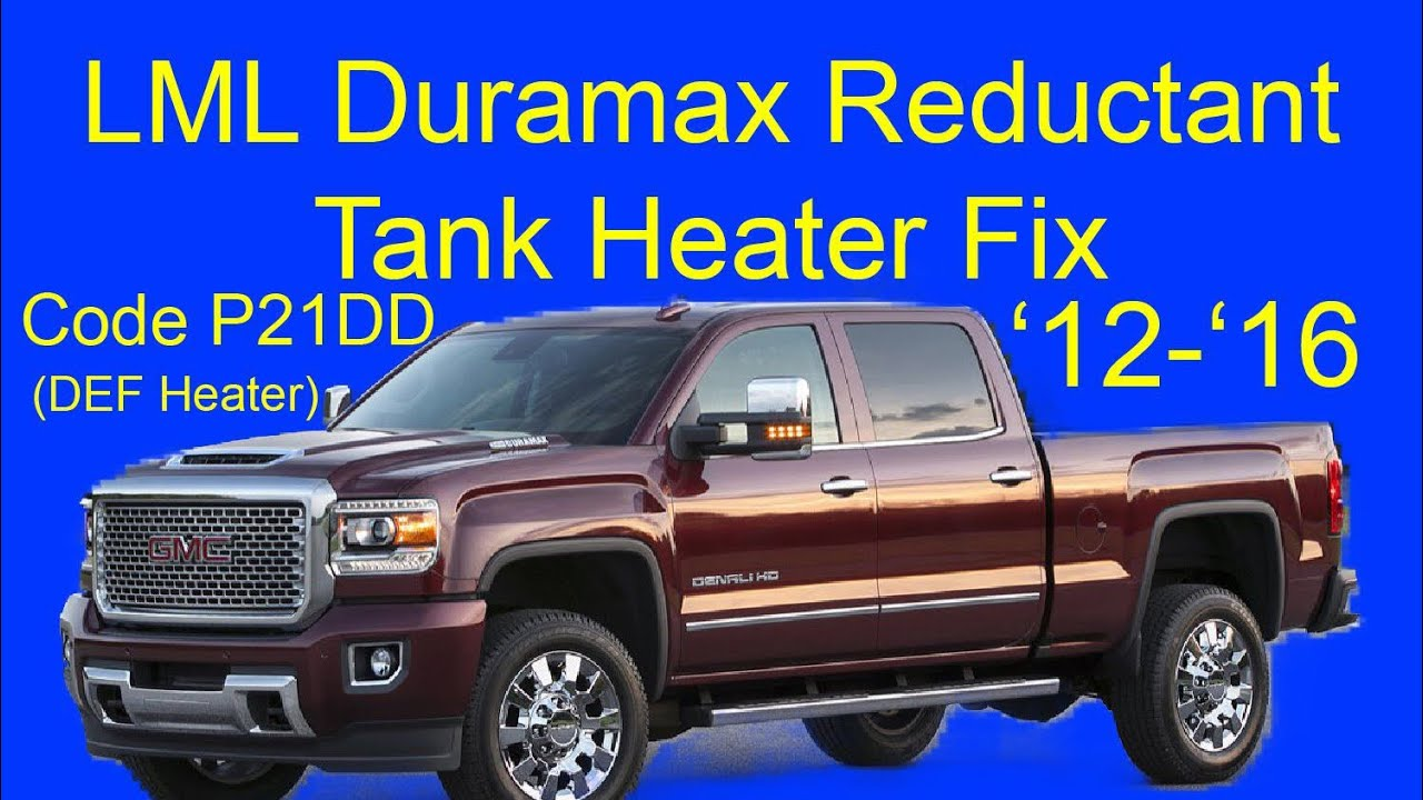 Duramax Lml 12 16 Def Tank Heater Replacement Youtube