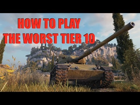 WOT - How To Play The Worst Tier 10 Medium In The Game | World of Tanks