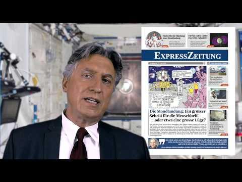 Neue ExpressZeitung präsentiert: Unbequeme Wahrheiten über die Mondlandung