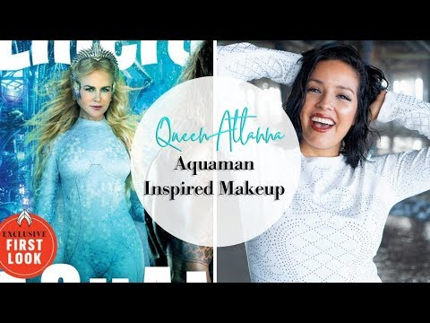 AQUAMAN MOVIE INSPIRED MAKEUP & HAIR TUTORIAL || Niki Camacho