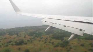 TAAG B737-700 D2-TBF Landing in Sao Tome Internacional