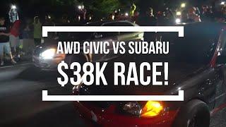 Awd Civic VS Subaru $38k Pot