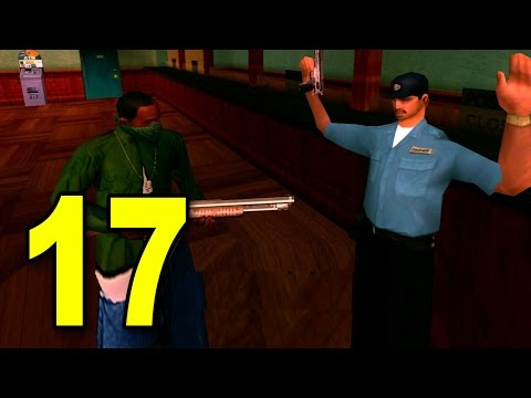 Grand Theft Auto: San Andreas - Part 17 - Bank Robbery (GTA Walkthrough / Gameplay)