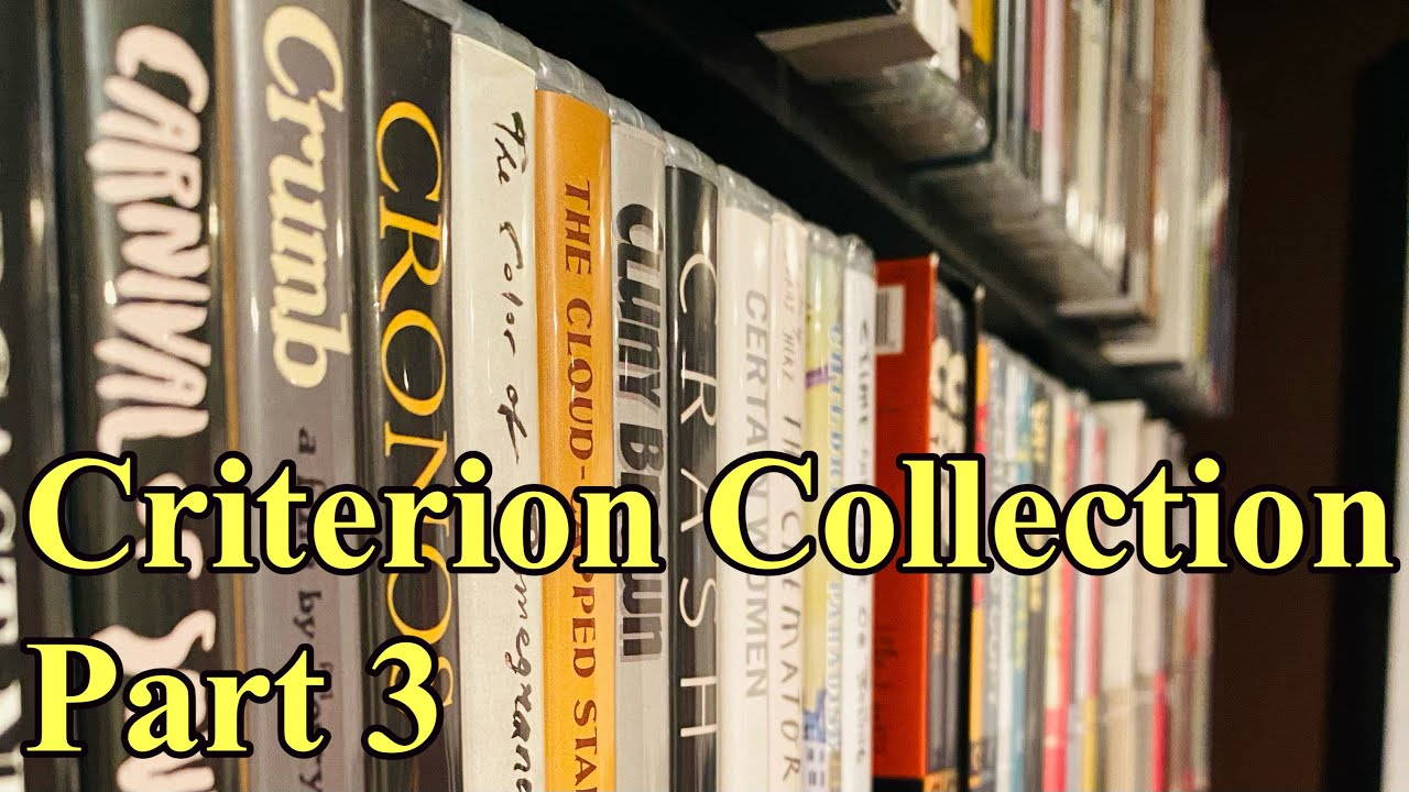 My Criterion Blu-ray Collection - 400+ Movies Pt.3