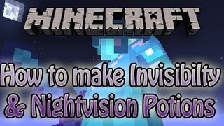 Minecraft 1.4 - How to make Invisibility and Night Vision potions legit - Where to Find Carrots