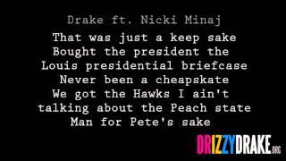 Drake ft. Nicki Minaj - Up All Night Lyrics [VIDEO]
