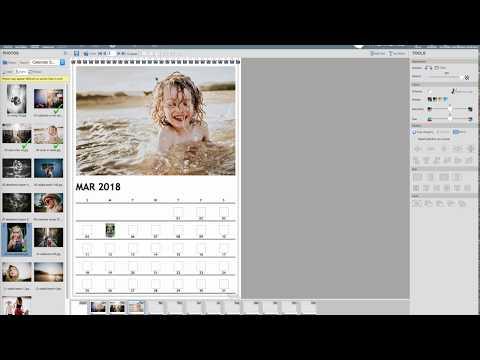 Create A Momento Wall Calendar - YouTube
