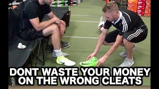 How to buy the best soccer shoes for YOU | Buying football boots soccer cleats indoor soccer shoes