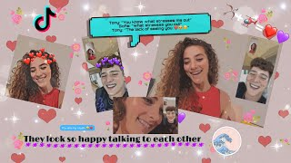 Compilation of Tony Lopez and Sofie Dossi interactions   part 2   *tea+cute moments