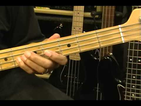 How To Play MGMT ELECTRIC FEEL On Bass Guitar Lesson Tutorial Eric Blackmon Bass