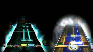 Before I Forget - Slipknot Expert Guitar Hero III vs. Rock Band 3 Chart Comparison