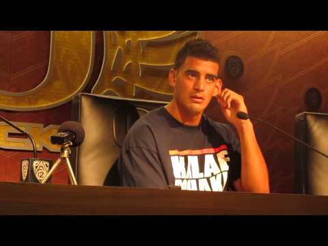 Marcus Mariota talks win vs Wyoming