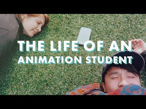 ART SCHOOL // Life of an Animation Student