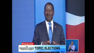 ODINGA speaks on claims of RIGGING in past elections