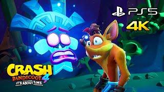 Crash Bandicoot 4: It's About Time - PS5 4K 60 FPS Gameplay (Next Gen Upgrade)