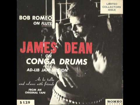 James Dean on Conga Drums