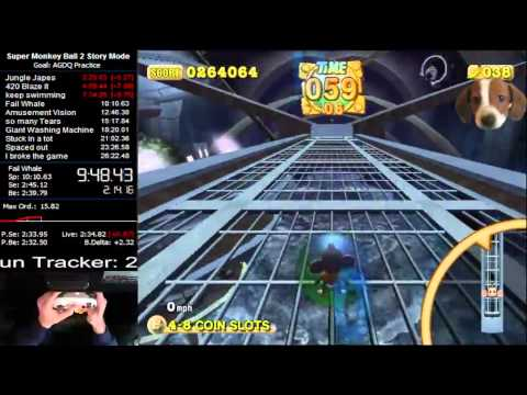 Super Monkey Ball 2 Story Mode in 26:18