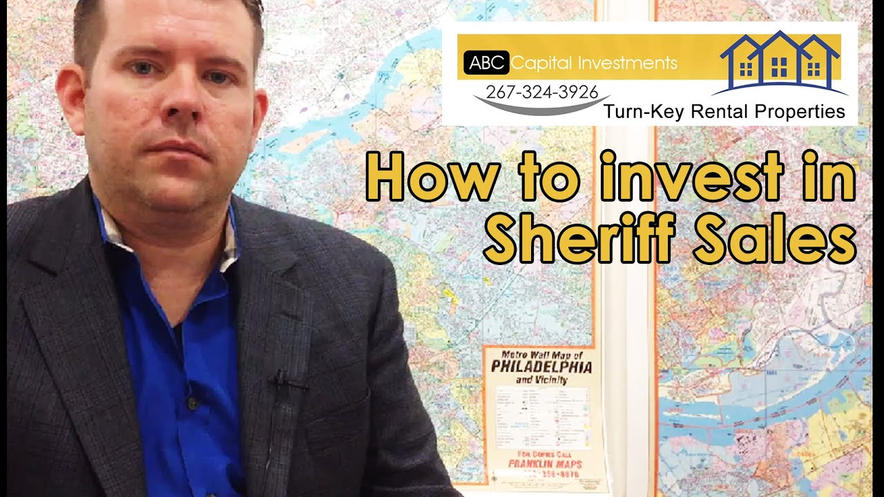 How to invest in Sheriff Sales