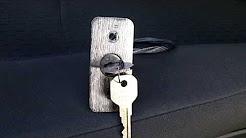 Vault release system for garage door- no locksmith needed
