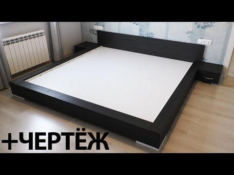 Как сделать кровать из дсп своими руками