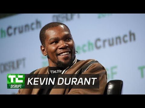 Kevin Durant Joins the Investment Game | Disrupt SF 2017