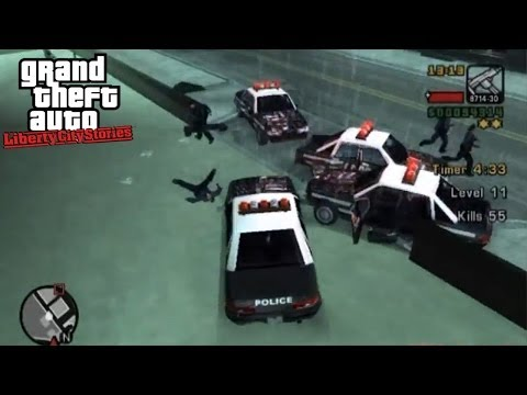 Vigilante - GTA: Liberty City Stories Side-Mission