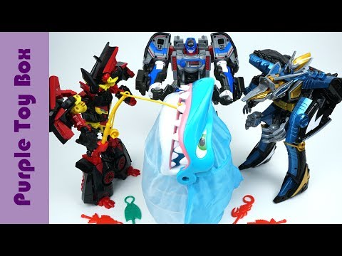 Thumbnail: Be Careful Of The Shark! Carbot Tobot Transformer Fishing Toy