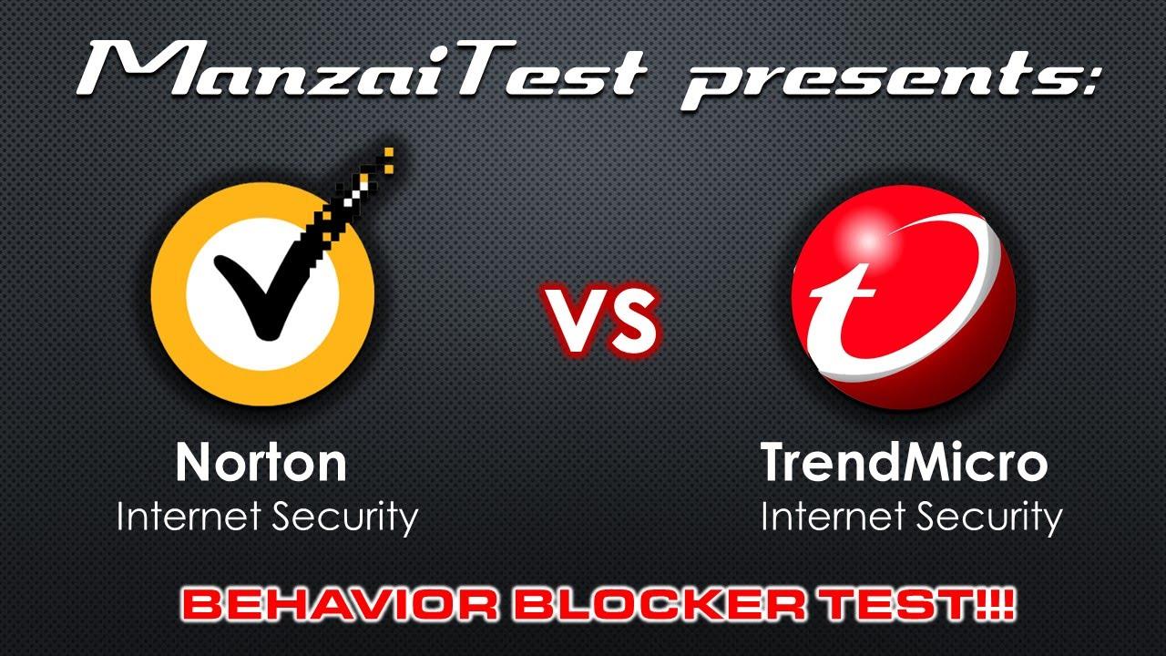 [Behavior Blocker Test] Norton Security 2015 VS Trend Micro Titanium  Internet Security 2015