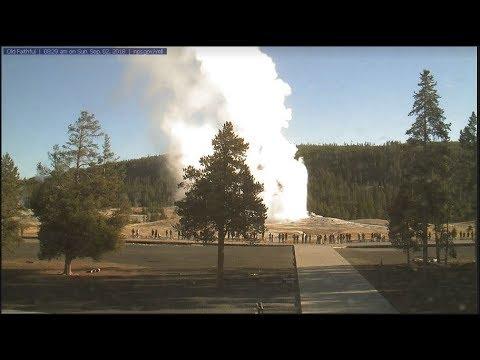 Old Faithful's Powerful Geyser@Yellowstone! [H-D] 9/2/2018
