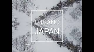 FURANO JAPAN BACKCOUNTRY DRONES x SNOWBOARDING
