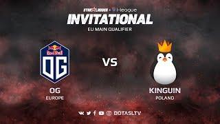 OG против Kinguin, Первая карта, EU квалификация SL i-League Invitational S3