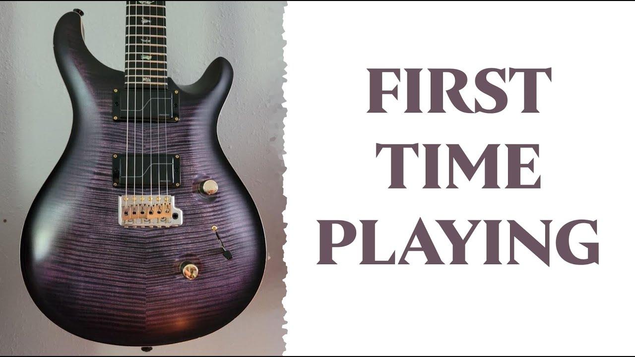 Matt Heafy (Trivium) - First time playing a PRS Artist Series Guitar!