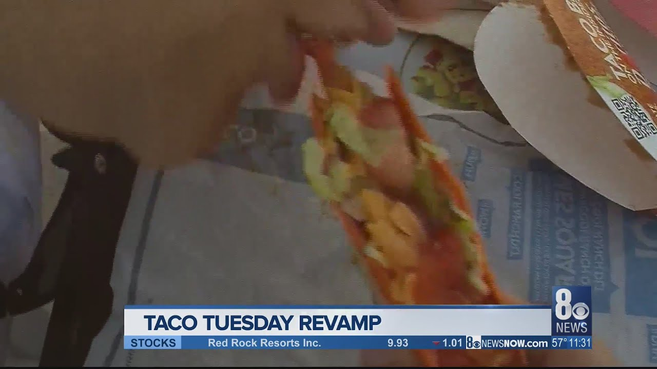 Taco Bell offering free tacos on Tuesday as a 'thank you' during ...