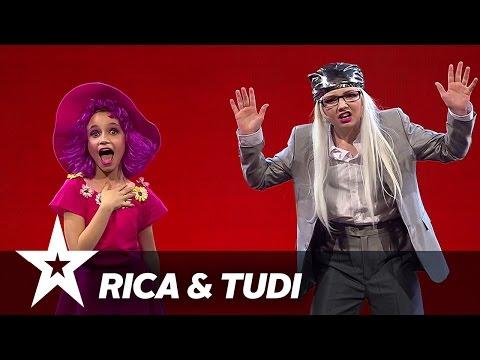 Rica og Tudi | Danmark Har Talent 2017 | Finalen