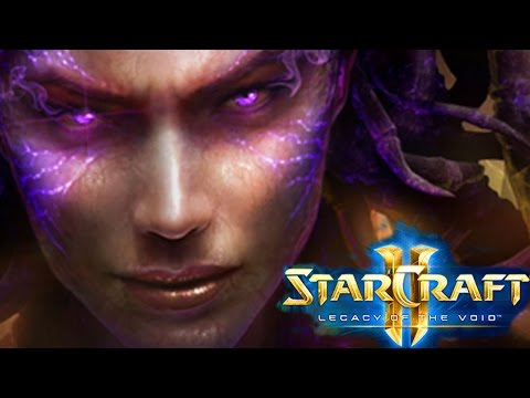 StarCraft 2 - Legacy Of The Void The Movie HD + Ending HD 1080p