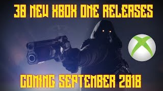 30 XBOX ONE GAMES RELEASING SEPTEMBER 2018
