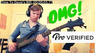 Hardest Bass Solo EVER! (Verified PRO)