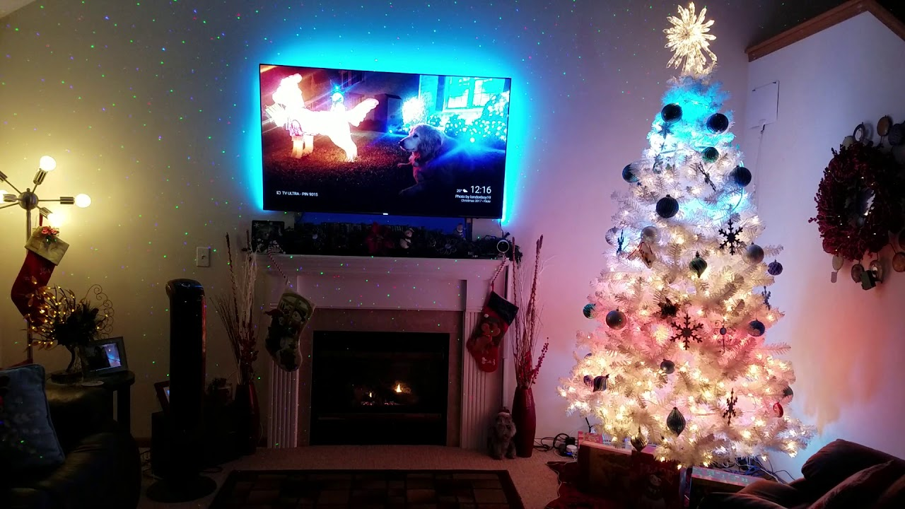 hue christmas app and phillips hue lighting