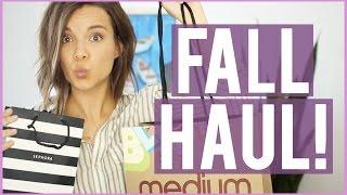 Fall Haul 2016! Beauty, Fashion + More! ◈ Ingrid Nilsen