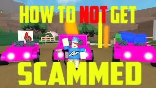 How To Not Get Scammed! Roblox Lumber Tycoon 2