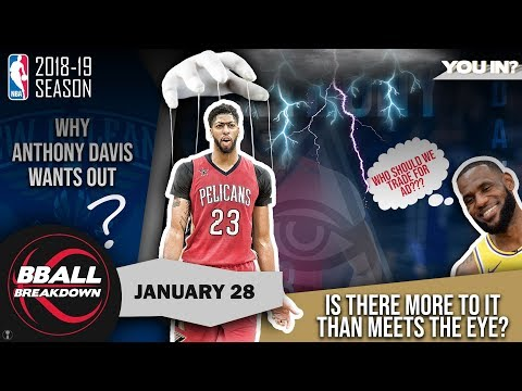 Conspiracy: How LeBron Gets Anthony Davis To The Lakers
