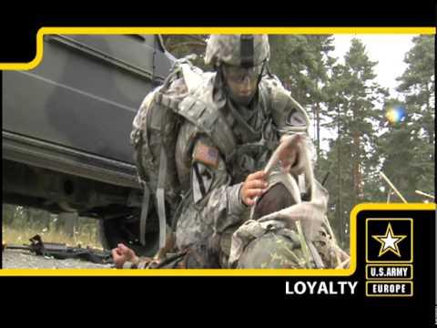 U.S. Army Europe Army Values: Loyalty
