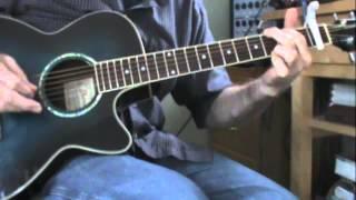 Goodbye Guitar Lesson • Glenn Morrison • Chords, Arpeggios. mp3