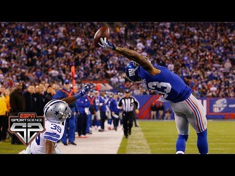 Odell Beckham Jr.'s one-handed catch | Sport Science | ESPN Archives