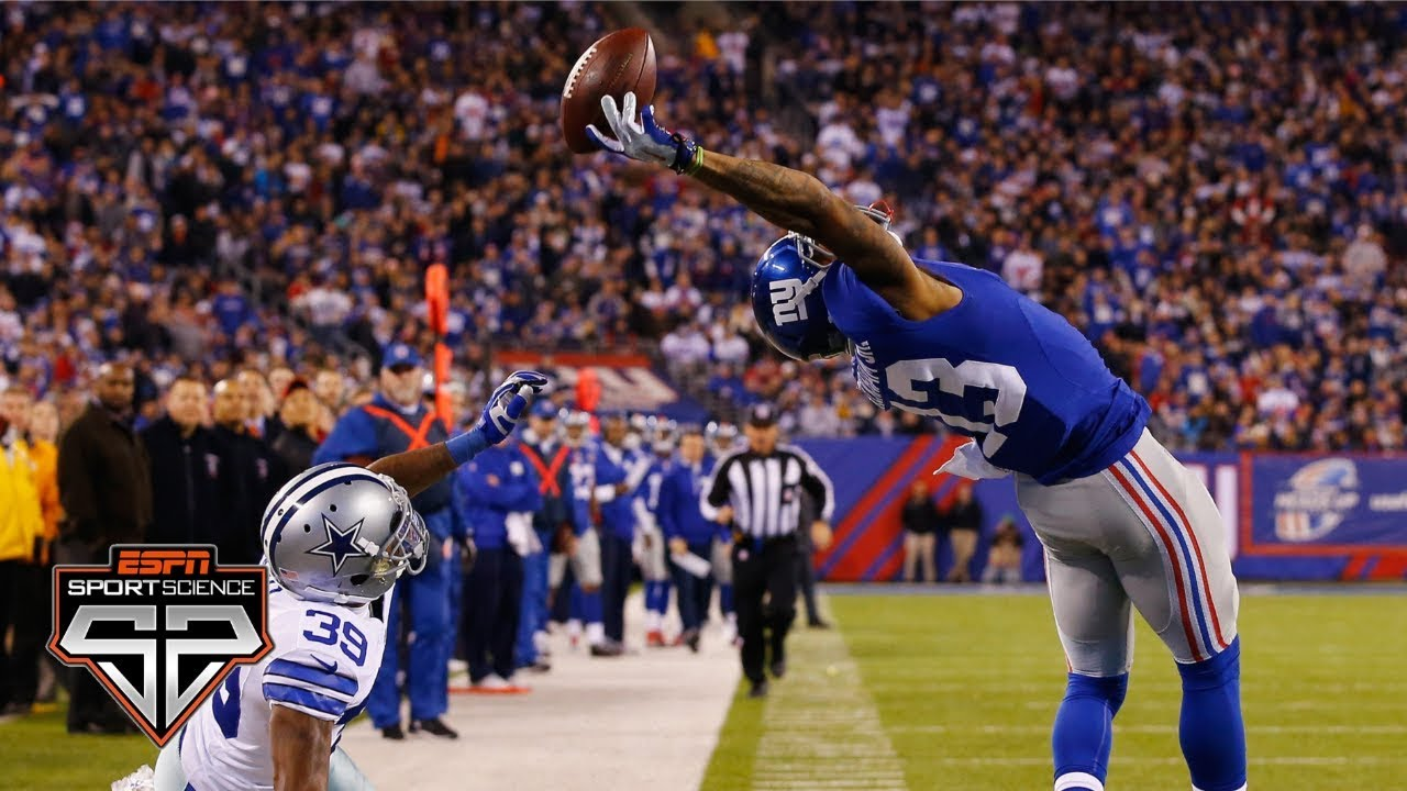 Odell Beckham Jr.'s one-handed catch | Sport Science | ESPN Archives