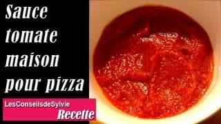 Ep 78 - Recette - Sauce tomate maison pour pizza [Rééquilibrage alimentaire - Régime]