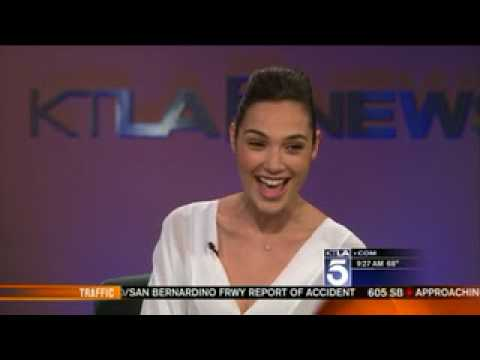 Gal Gadot Interview on KTLA (Los Angeles) Morning News for Fast & Furious 6