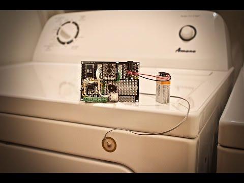 Arduino Washer/Dryer Alarm System - Tutorial + Code