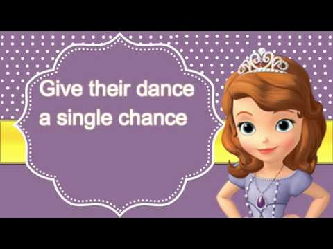 Sofia The First: Perfect Slumber Party Lyrics