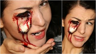Pop Out | Missing Eye — Special FX Halloween Makeup Tutorial